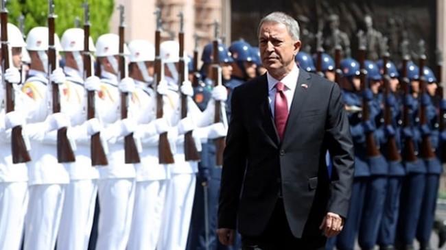 """Milli Savunma Bakanı Hulisi AKAR:ABD'nin Türkiye'ye Patriot batarya desteği olabilir"""""""